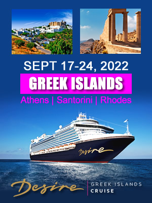 Desire Cruise Greek Islands