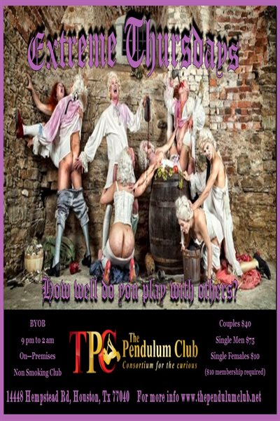 the pendulum club houston