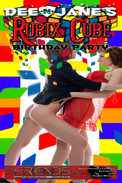 Sat, Aug 26, 2017 Dee and Jane's Rubix Cube Party! at Friends Austin Members NightClub Austin  Texas