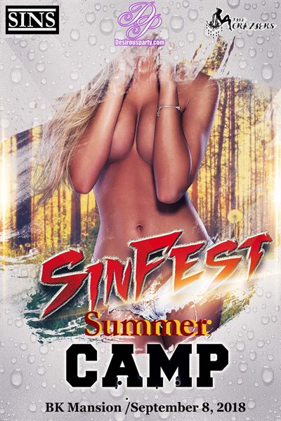 Sat, Sep 8, 2018 SINFEST Summer Camp at BK Mansion Private Residence Crosby TX
