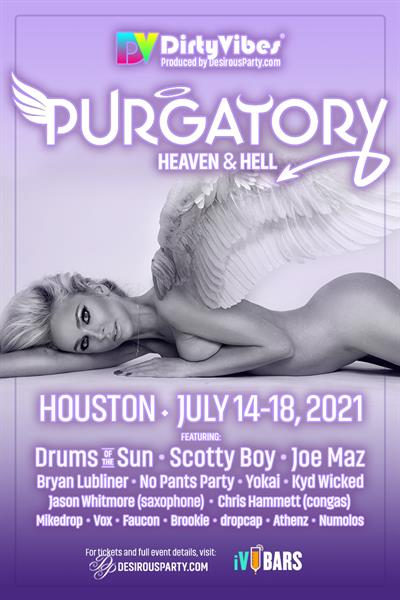 Wed, Jul 14, 2021 Purgatory, Heaven or Hell, 2021 at Doubletree Hotel at IAH Airport Hotel Houston Texas