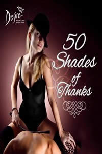 Wed, Nov 26, 2014 50 SHADES OF THANKS at Desire Resort Riviera Maya Resort Cancun