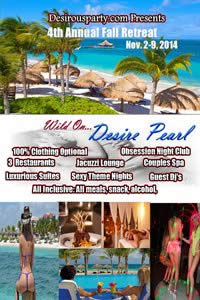 Sun, Nov 2, 2014 Wild On Desire Pearl 4th Annual Fall Retreat at Desire Pearl Resort Resort  Puerto Morales