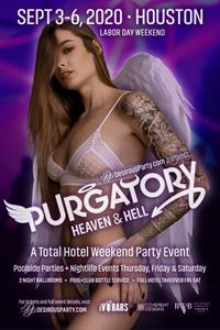 Thu, Sep 3, 2020 Purgatory, Heaven or Hell, 2020 at Doubletree Hotel at IAH Airport Hotel Houston Texas